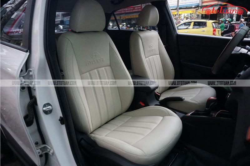 Bọc ghế da xe Hyundai i20