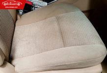 ghế nỉ ô tô bị dính vệt nước