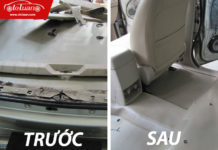 dịch vụ vệ sinh nội thất ô tô