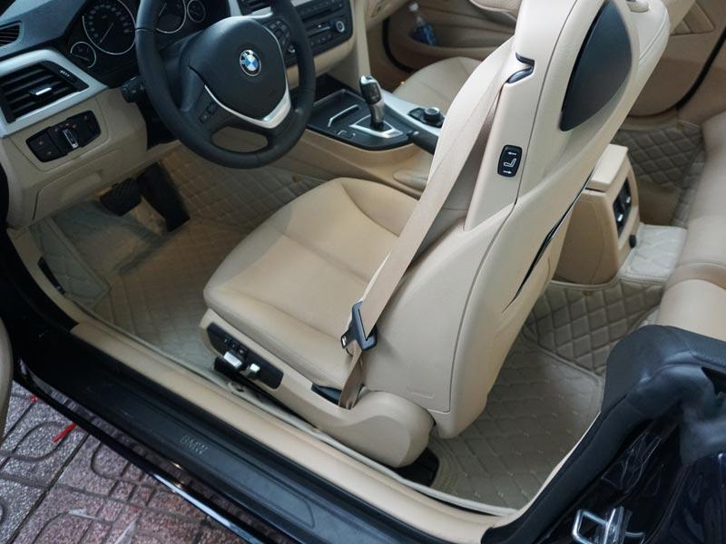 Thảm lót sàn 5D xe BMW 420i mui trần