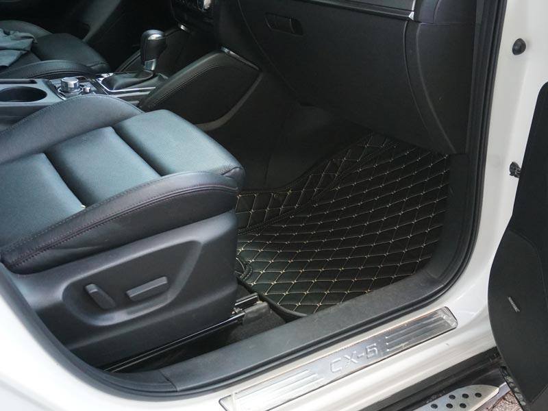 thảm lót sàn 5D xe Mazda Cx5