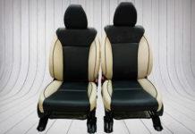 Ghế da xe Honda H-RV sau khi được độ bọc da