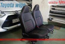 Bọc ghế da xe Toyota Wigo 2021