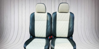 Bọc ghế da xe Mitsubishi Outlander