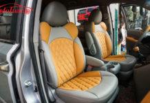 Bọc nệm ghế da xe Kia Carnival