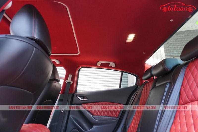 Bọc da nội thất cho xe Mazda 3
