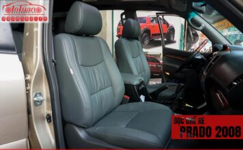 Bọc ghế da xe Toyota Land Cruiser Prado 2008